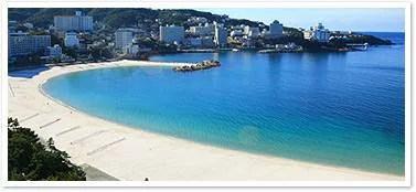 ③本州で一番早い海開きで長い期間楽しむ事が出来る!