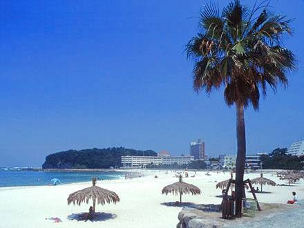 ②白浜だけでは無く、関西を代表する海水浴場!白良浜海水浴場