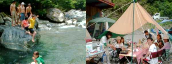 秩父のキャンプ場⑧管理人さんマジぱねぇ!入川渓谷夕暮キャンプ場