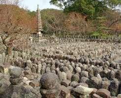 京都の心霊スポット③野ざらしの遺体が集まっていた風葬の地「化野念仏寺」