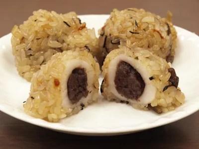 新潟県郷土料理⑨「だんごおこわ」と「おこわ団子」