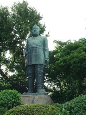 鹿児島観光スポットランキング①記念写真スポット!西郷隆盛銅像