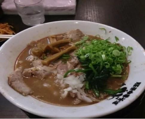 和歌山おすすめラーメンランキング②和歌山ラーメンの勢力図を変える? 「がんたれ」2