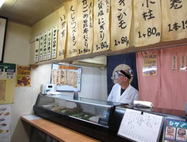 函館回転寿司ランキング8.廉売の中の立ち食い寿司屋!「シゲちゃんすし」