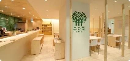 札幌カフェランキング②ファッションビルの中の心地良い空間「森の間CAFE札幌店」