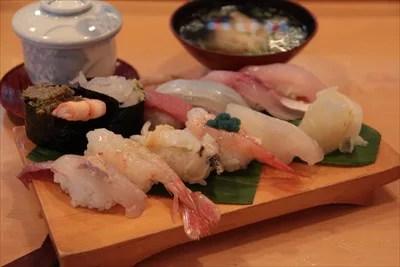 富山県寿司ランキング⑦元漁師が豪快に繊細に!寿司栄