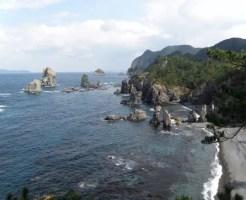 山口県デートスポットランキング③海上アルプスを堪能!「青海島」