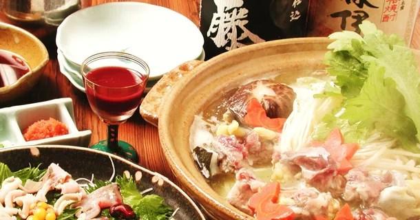 大阪すっぽん鍋ランキング④すっぽん料理いろいろ!すっぽん ふぐ 寿司割烹 得月(とくげつ)