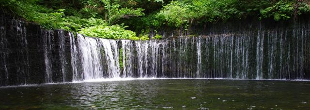 """軽井沢観光スポットランキング①マイナスイオンの宝庫""""白糸の滝"""""""