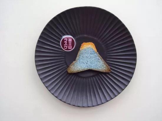 富士山お土産ランキング①日本一高い山が可愛らしいラスクに!「富士山ラスク」(江戸うさぎ)
