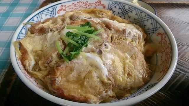 宮城県郷土料理ランキング②仙台麩のボリューム!【油麸丼】もくもくランド木里口