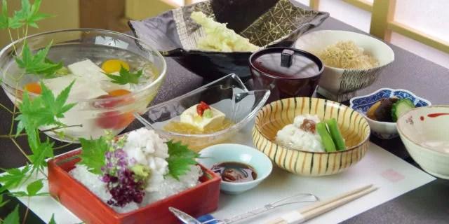 京都「鱧料理」ランキング⑧京豆腐と鱧で夏もさっぱりいただけます【祇園うえもり】