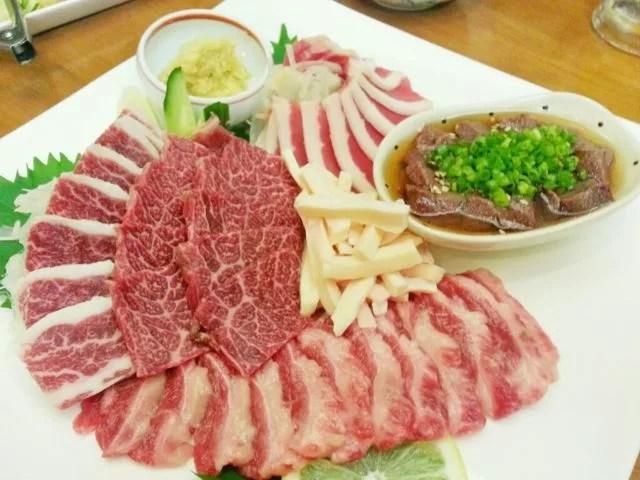 熊本県馬肉料理ランキング⑧馬肉好きが高じて店を出してしまった!馬焼料理 さくら食堂