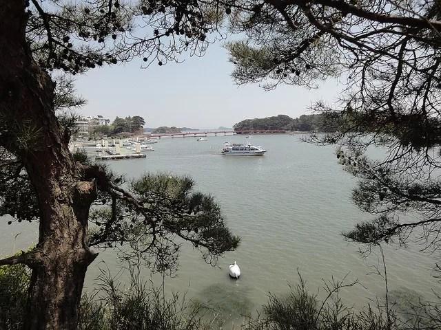 松島の遊覧船にはコースが様々ある!