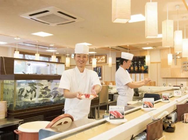 水戸寿司ランキング④旬な回転寿司!千両 水戸堀町店