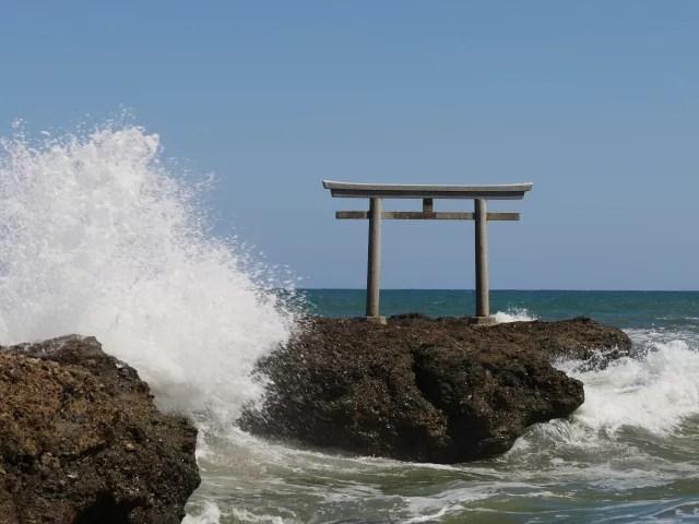 大洗観光スポットランキング④パワースポットで今や人気アニメの「聖地」!大洗磯前神社