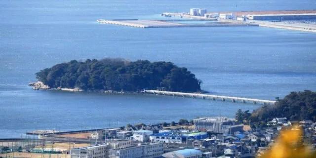 蒲郡パワースポットランキング①橋を渡ると、けがれたモノが浄化される「竹島橋」