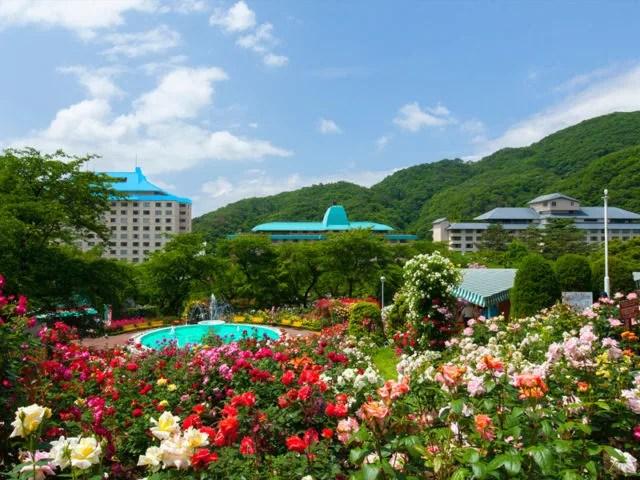 岩手県花巻の観光スポットランキング③色とりどりのバラに魅了される「花巻温泉バラ園」