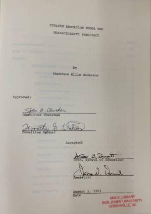 Dissertation 2 signatures