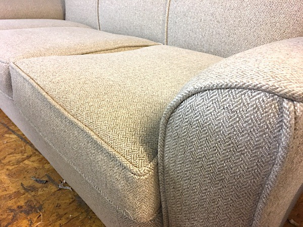 1930s Chair in houndstooth by Linwood - matching sofa