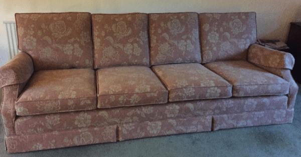 4 seat sofa sized