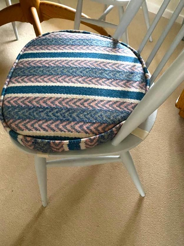 Ercol pads in Linwood fabric