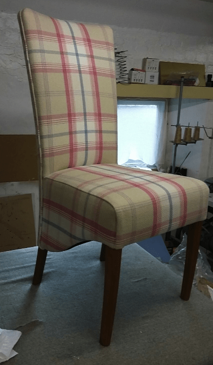 High back dining chairs
