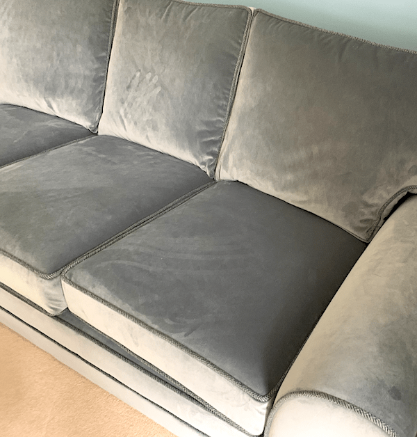 Sofa - grey blue