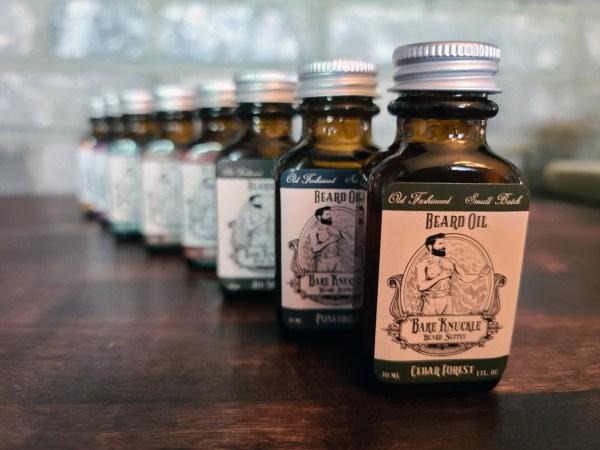 Bare Knuckle Beard Oil Line - Cedar Forest