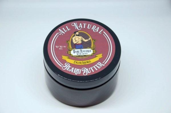 All Natural Beard Butter Cap On - Cigar Lounge