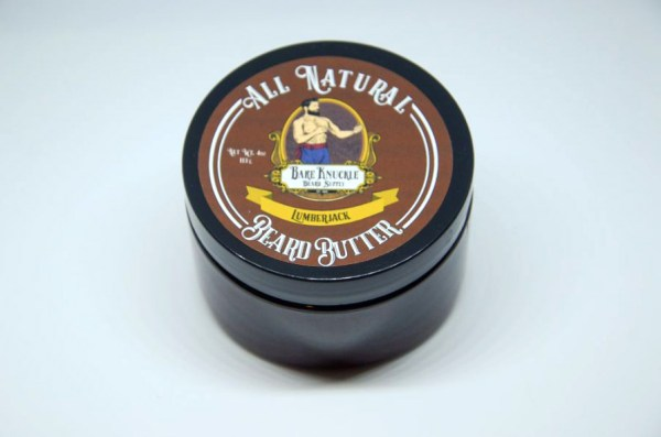 All Natural Beard Butter Cap On- Lumberjack