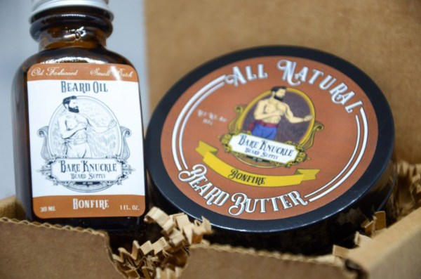 Bonfire Beard Oil and Butter - in Box