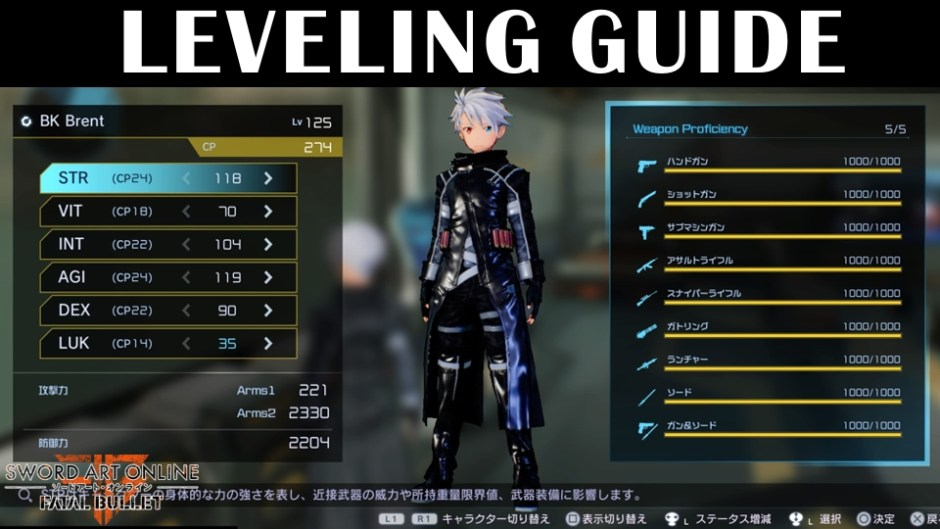 General Leveling Guide Bk Brent S Game Guides