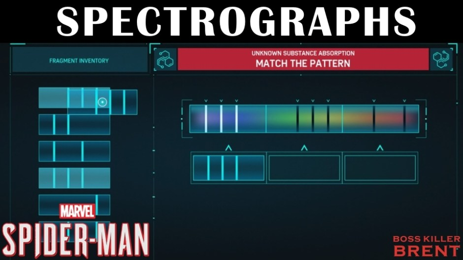 SpidermanSpectrographs