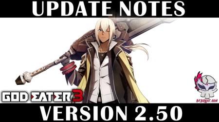 [GE3] Version Update 2.50