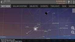 Fri Feb 5 Moon above Venus and Mercury