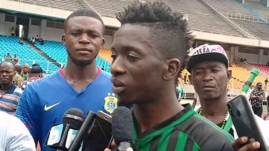 LINAFOOT 2020: «Je suis là, je vais jouer dans V.club cette saison.» Jean Marc MAKUSU  MUNDELE (interview).