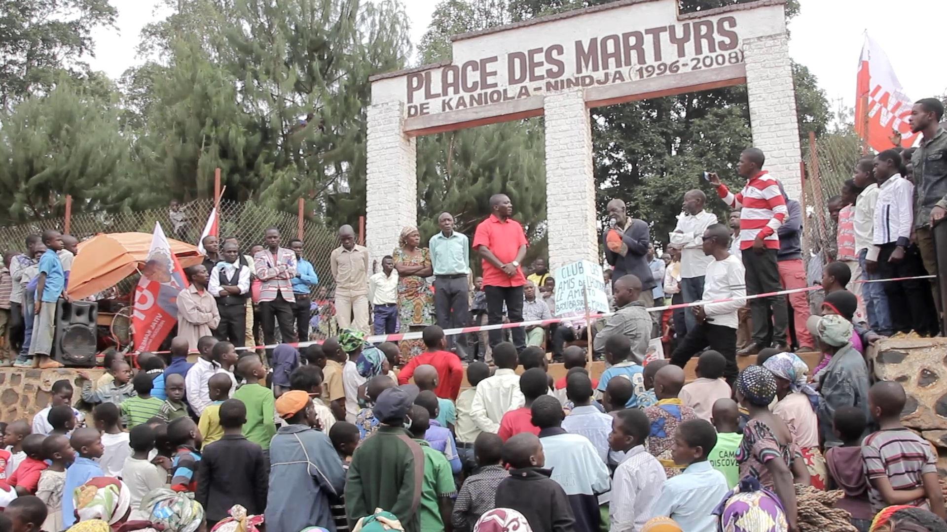 14 ANS DE MASSACRE DE KANIOLA : Le député Amato BAYUBASIRE promet de s'impliquer pour retrouver  la justice de martyrs.