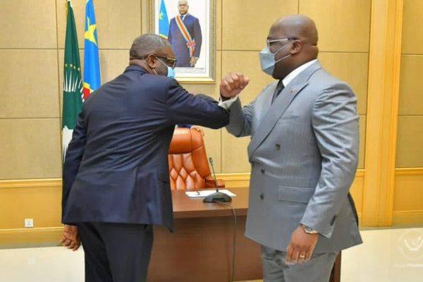 CONSULTATIONS EN RDC : Avec le président Felix TSHISEKEDI, Dr MUKWEGE réclame la rupture avec tous ceux qui ont commis des crimes en RDC.