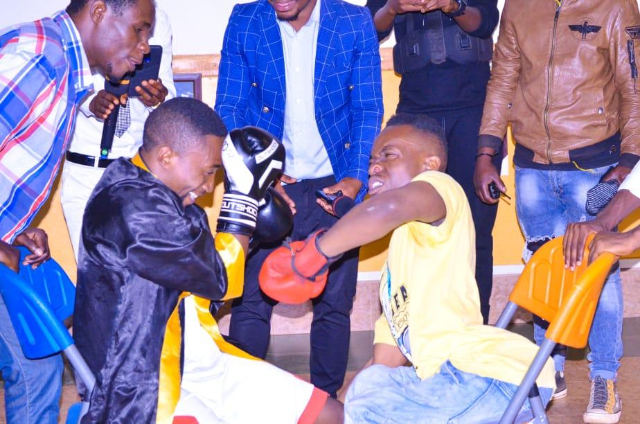 Bukavu :«  Je fais la boxe professionnelle à partir de ma chaise roulante.»Bahati NGABO