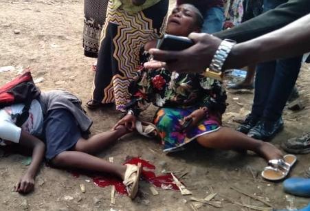 Bukavu : Une dispute entre deux policiers coûte la vie à  un élève  de 10 ans  à la Brasserie.