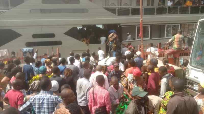 Éruption volcanique à Goma : Une comission d'accueil des déplacés mise en place à  Bukavu.