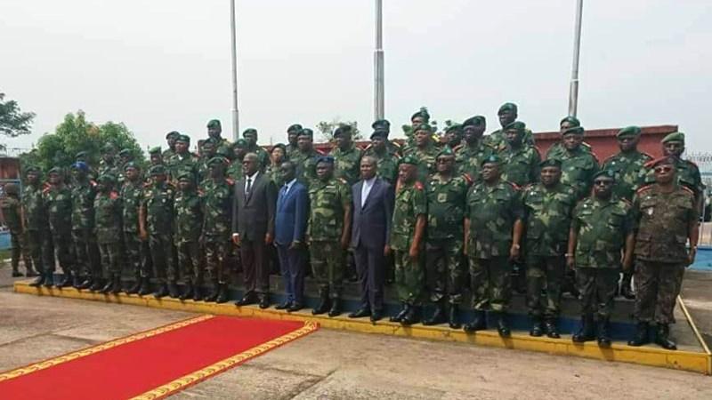 RDC : Des nouveaux commandants régions et opérations sokola nommés.