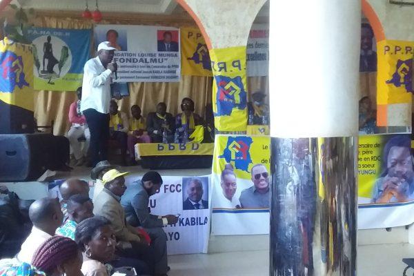 """50 ans JKK à  Bukavu : """" Le PPRD du hier n'est pas celui d'aujourd'hui. Qui est objet des sacrifices"""" Bernard ZAGABE."""