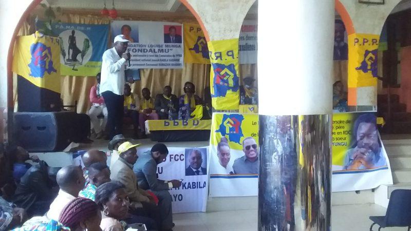 50 ans JKK à  Bukavu : » Le PPRD du hier n'est pas celui d'aujourd'hui. Qui est objet des sacrifices» Bernard ZAGABE.