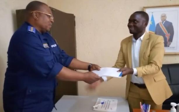 Nord-Kivu /Masisi : Remise et reprise entre l'administrateur du territoire adjoint civil et policier.