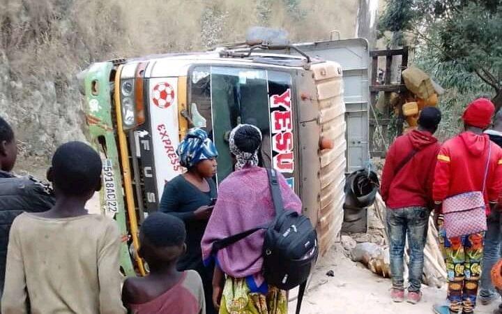 Sud-Kivu : Trois morts et plusieurs blessées dans un accident de circulation à Nyafunze.