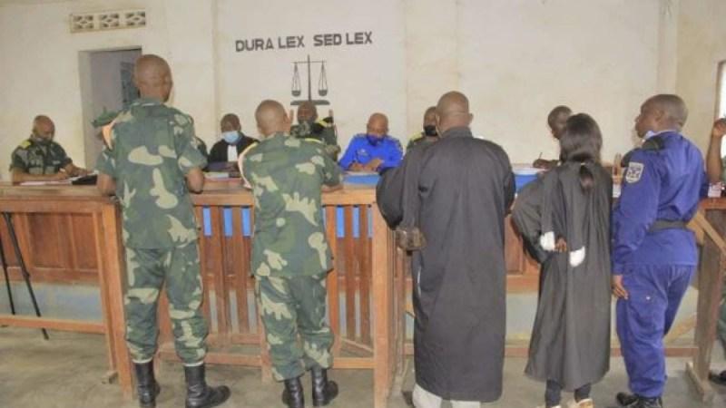 État de siège au Nord-Kivu : 9 officiers des FARDC de  la ville de Goma conduits à la justice militaire pour détournement de fonds