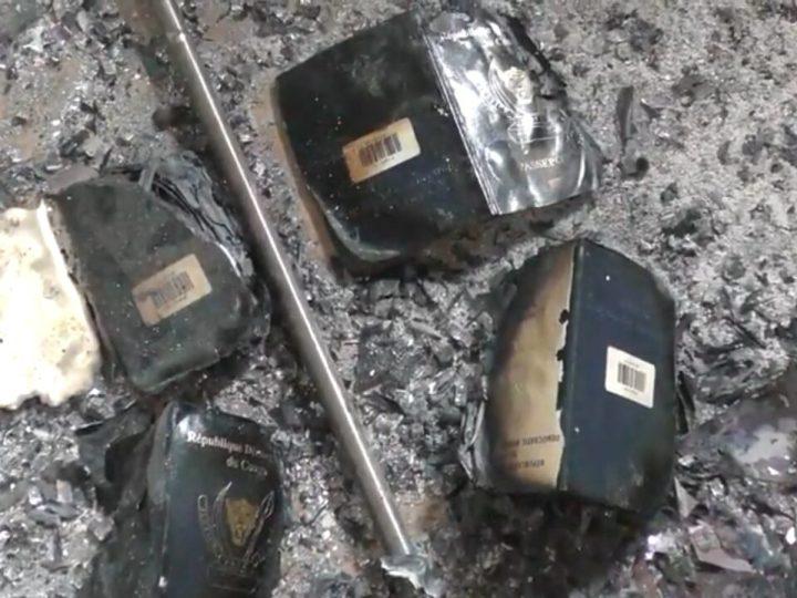 Un incendie de la poste de Bukavu : Beaucoup des Congolais seront privés de passeports biométriques