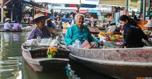 Плавучий рынок Damnoen Saduak Floating Market ★ Свой человек в Бангкоке